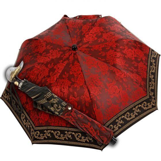 Knirp Marchesato Pocke Umbrella in Baroque Red
