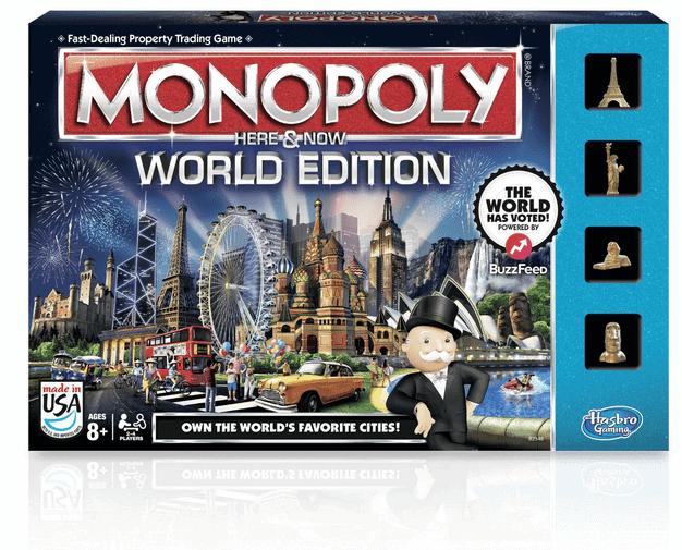 Hasbro Monopoly World Edition