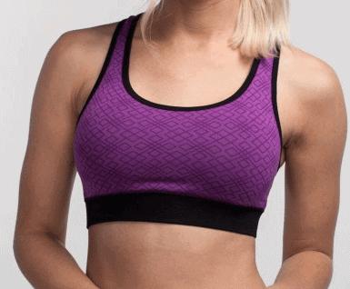 1f158300bd cariloha sports bra front Cariloha sports bra purple