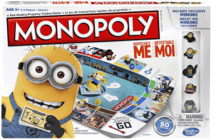 Minion Monopoly Board Game