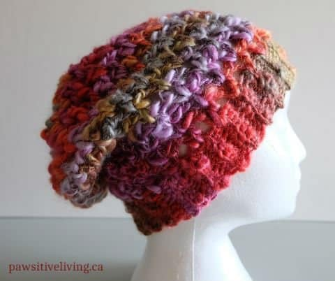 Upscale Slouchy Hat Pattern