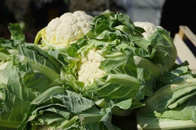 2 heads of cauliflower