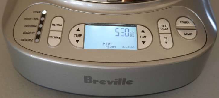 Breville One Precision Poacher control panel