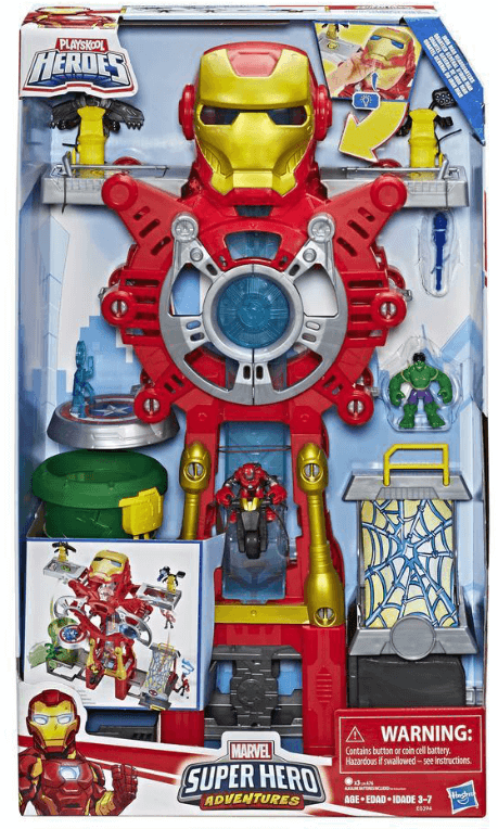 Marvel Iron Man Headquarters Playset