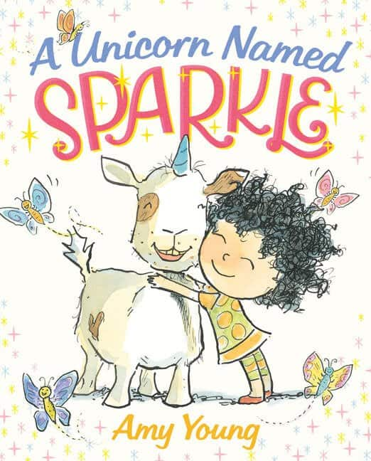 A Unicorn Named Sparkle Storybook