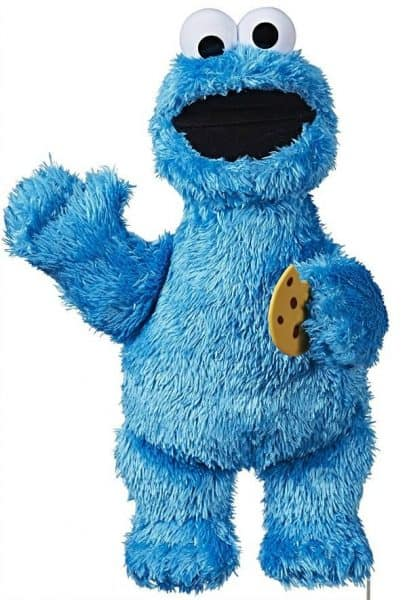 Cookie Monster Interactive toy