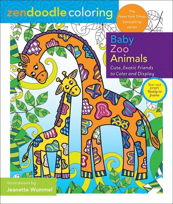 Zendoodle Baby Zoo Animals