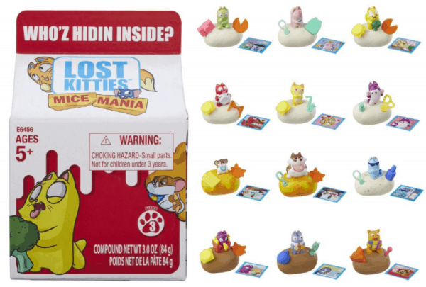 Lost Kitties Mice Mania Singles Toy, Series 3