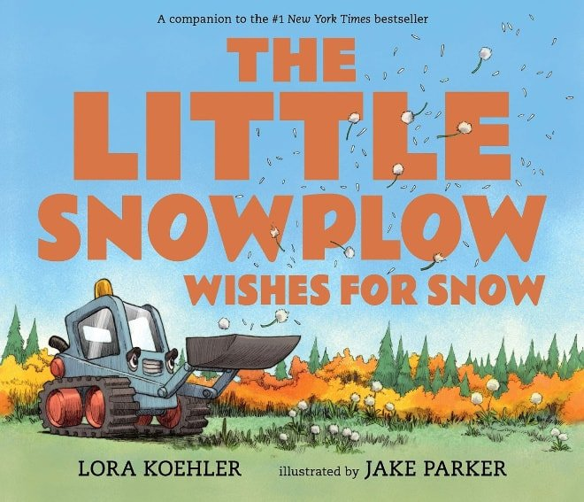 The Little Snowplow Wishes For Snow storybook
