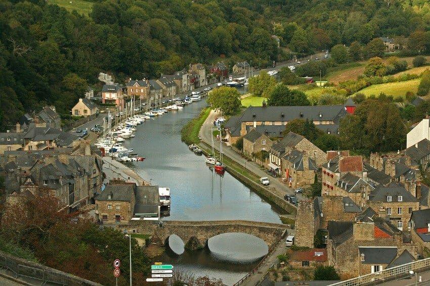 Dinan, France pixabay