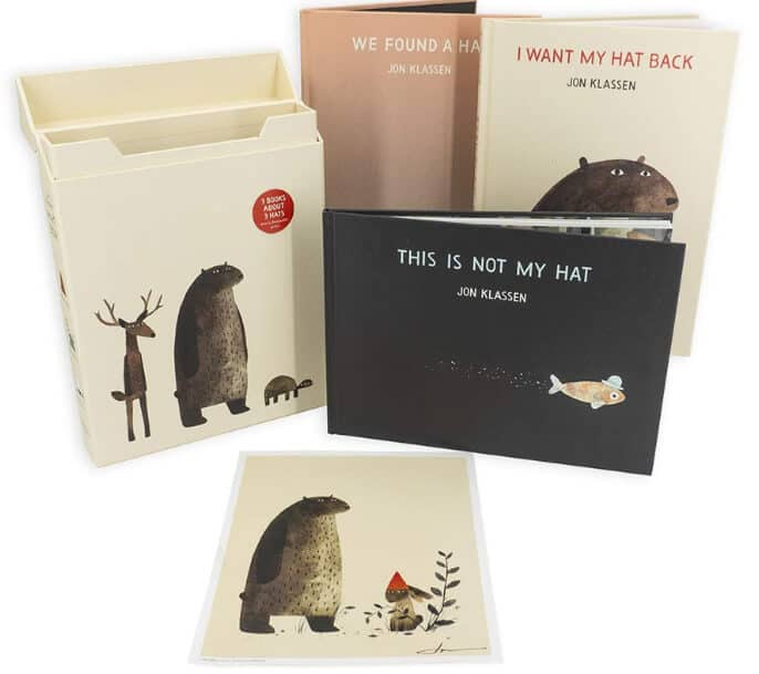 Jon Klassen's Hat Box storybooks