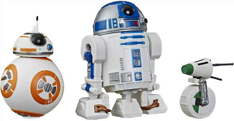 Star Wars Galaxy of Adventures Droid Figures