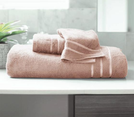 Cariloha bath towels