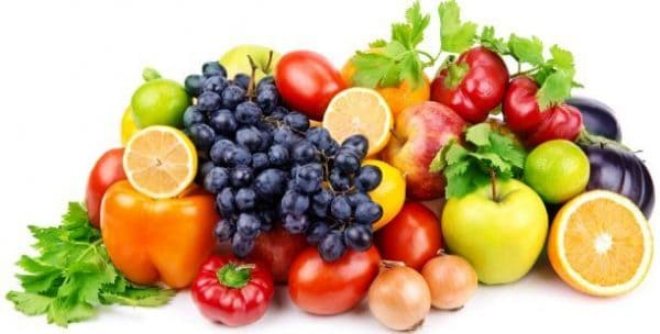 detox with fruits and veggies - deposit