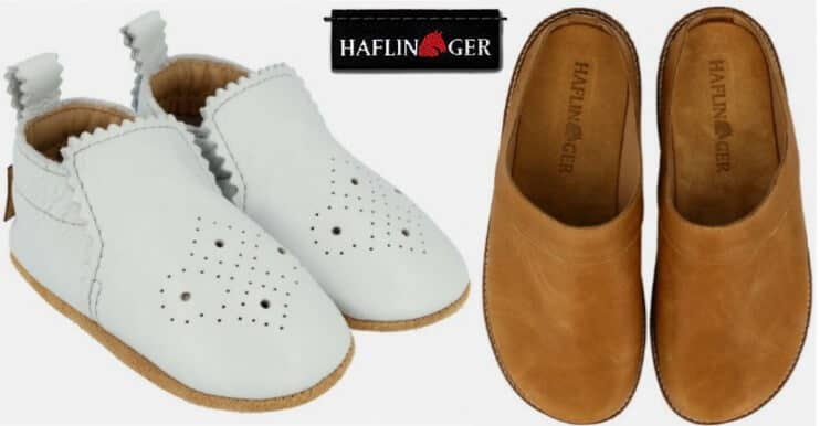 Haflinger footwear for children