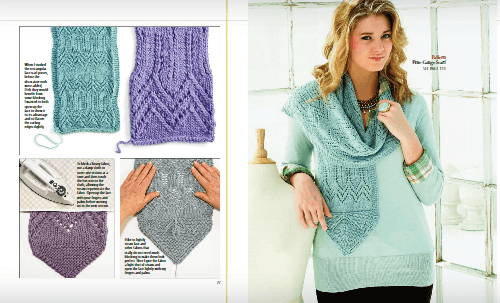finishing knitted garments