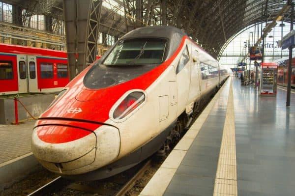 Frankfurt trains - deposit