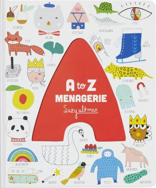 A to Z Menagerie storybook
