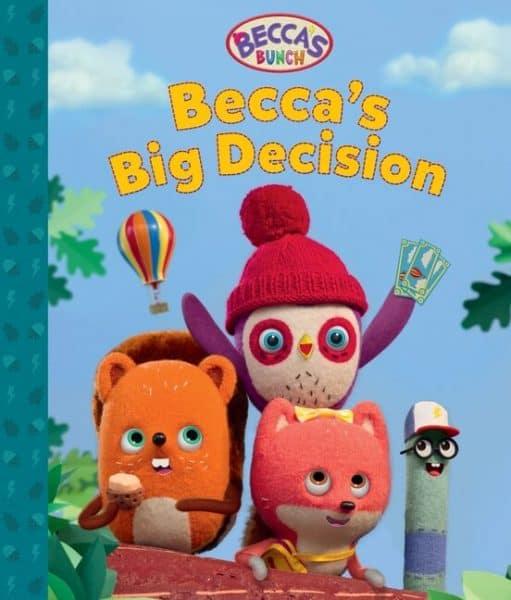 Becca's Big Decision storybooks