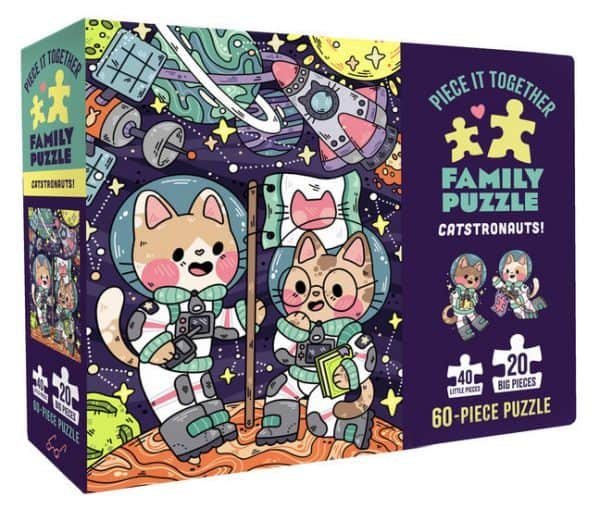 Piece It Together - Catstronauts! puzzles