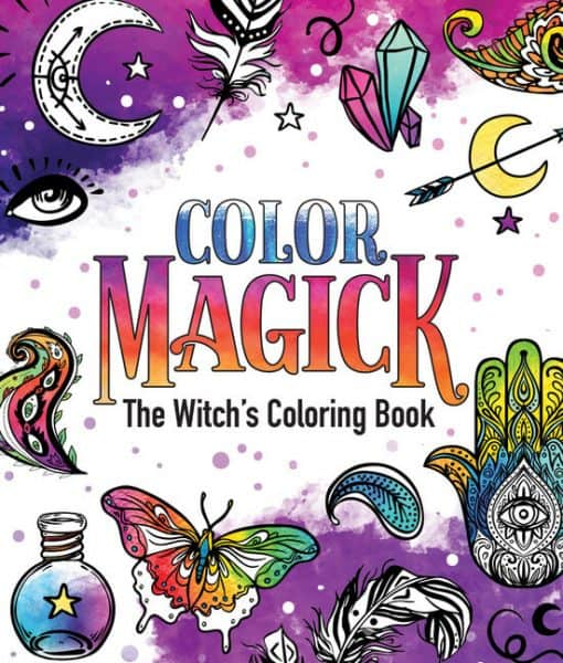 color magick coloring book