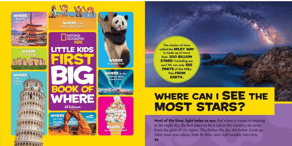 online contests, sweepstakes and giveaways - National Geographic, Little Kids First BIG Book of Where - Pausitive Living