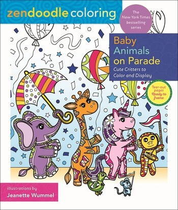Zendoodle Baby Animals on Parade