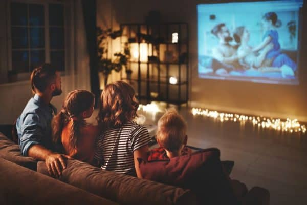 family movie night - summer fun. deposit