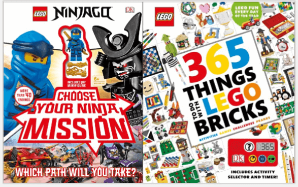LEGO Ideas & Ninja Missions Prize Pk - Pausitive Living
