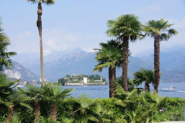 Stresa, Italy along Lake Maggiore